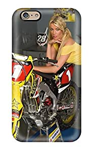 High-quality Durability Case For Iphone 6(girls And Motorcycles) With Free Screen Protector