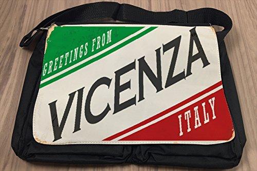 Borsa Tracolla Voglia Viaggiare Città Italia Venezia Stampato