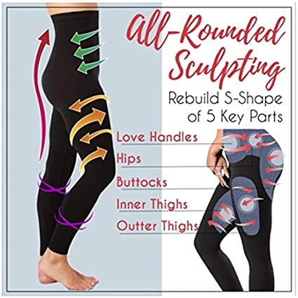 Medium Reductor Leggings sin Costuras Ropa Reductora Reuvv Mujer Bella Durmiente Piernas Modelador Leggings Calcetines Reductor Pierna Hip Dar Cuerda Pantalones