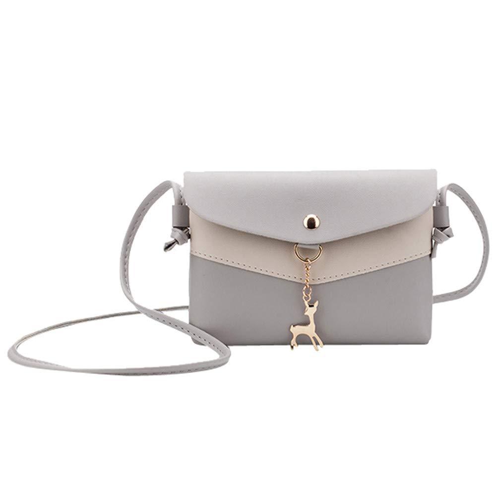 Clearance ❤ Women Bag JJLIKER Fawn Pendant Messenger Tote Crossbody Handbag