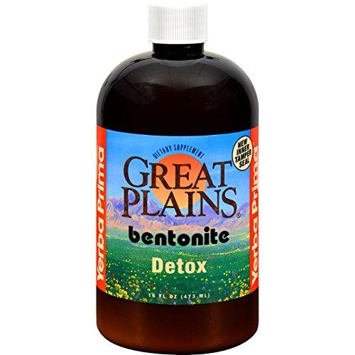 Yerba Prima Great Plains Bentonite Detox   16 Fl Oz