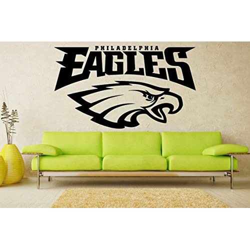Attirant Philadelphia Eagles NFL Logo Football Sticker Vinyl Decal Wall Decor Room  Garage Original Unique Art 084