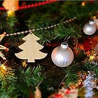 Holibanna adornos navideños madera sin terminar diy árbol de ...