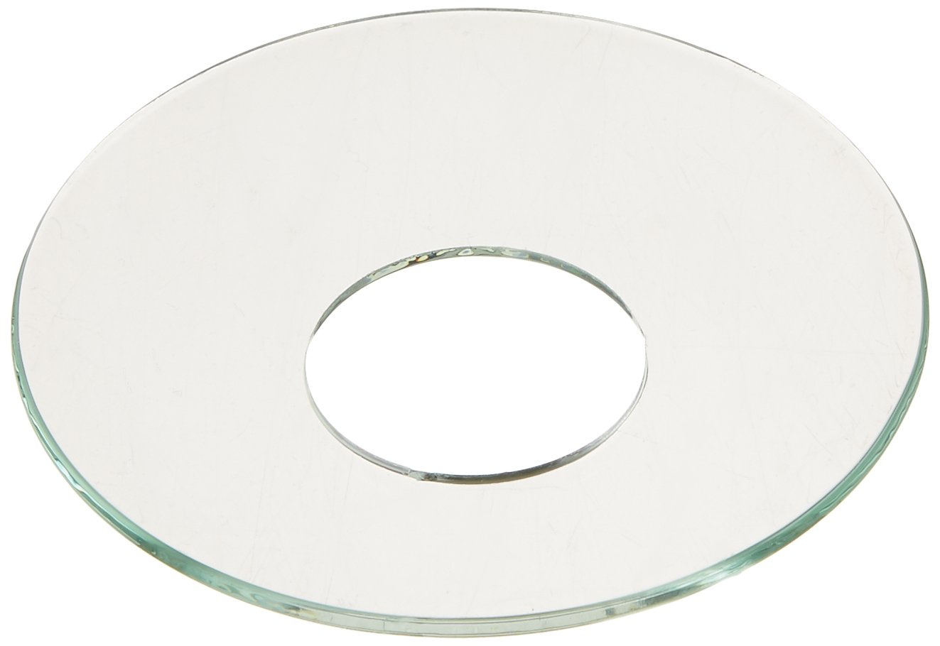 Biedermann & Sons Glass Bobeches 12-Count, Clear, Piece