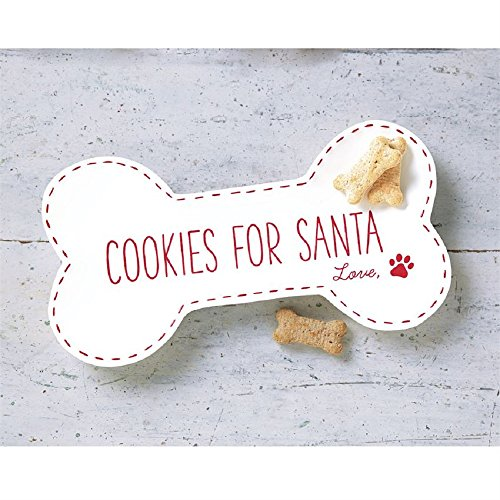 Mud-Pie-PET-COOKIES-FOR-SANTA-PLATE