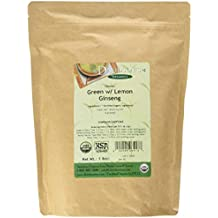 Davidson's Tea Bulk, Green with Lemon Ginseng, 16-Ounce Bag