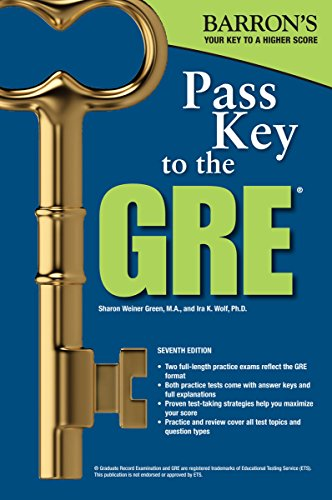 Pass Key to the GRE, 7th Edition (Barron's Pass Key)