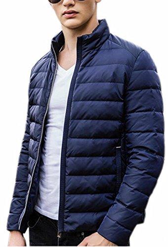 Zip Giù Cappotto Solido Frontale uk Outwear Calda Medio Il 2 lungo Uomo Allentata Sportivo Brd qxXw74T