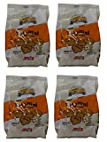 I Racconti del Grano: ''Taralli al Sesamo '' Sesame Taralli 8.82 Ounce (250gr) Package (Pack of 4) [ Italian Import ]