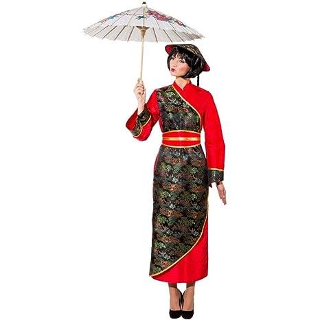 risparmi fantastici super speciali stili di moda ORLOB KARNEVAL GmbH Costume donna cinese taglia EU 48 ...