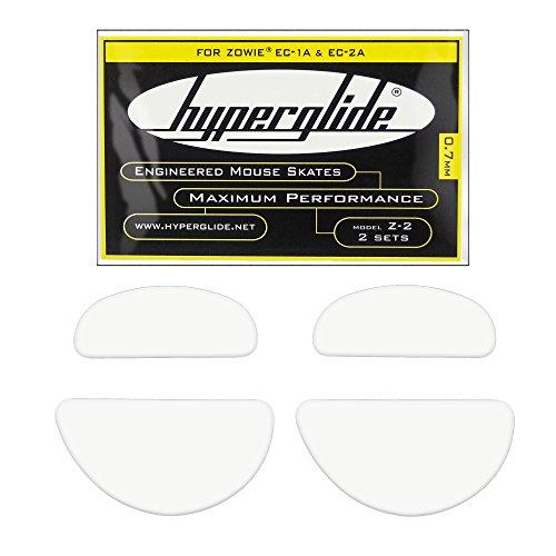 Hyperglide Mouse Skates for Zowie EC-1, EC1-a, EC-2 & EC-2a (Z-2)
