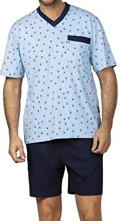 online retailer c53b0 fa96e Comte Herren Marken Pyjama Schlafanzug Kurz Shorty Gr. 54 ...