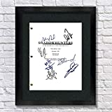 Shadowhunters TV Autographed Signed Reprint 8.5x11 Script Framed Cassandra Clare, Clary Fray, Jace Wayland