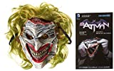 Batman: Death of the Family Book and Joker Mask Set