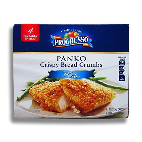 Progresso Panko Crispy Bread Crumbs - 4 packages of 8 Oz. (32 Oz. Total) by