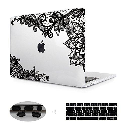 Transparency Crystal Floral Macbook Release
