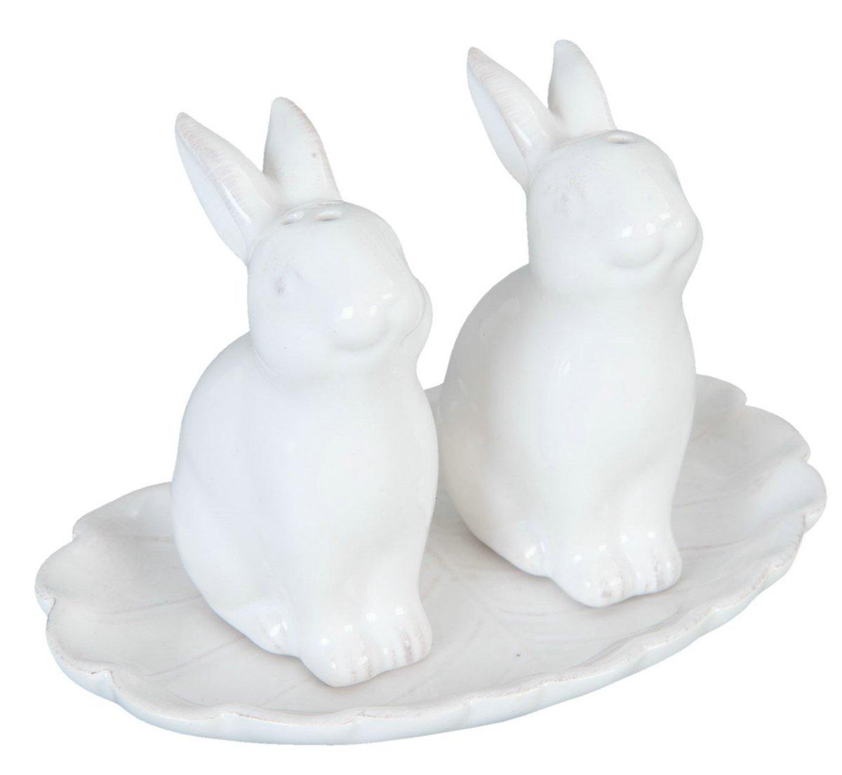 Clayre /& Eef 6CE0648 Coniglio 12 x 8 x 8 cm Set Sale e Pepe