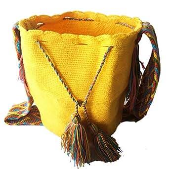 WAYUU Cotton Bag For Women,Multi Color - Crossbody Bags