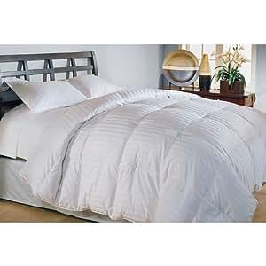 500 Thread Count Cotton Damask Duraloft Down Alternative Comforter - King