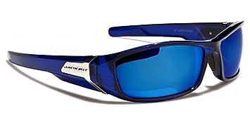 Arctic Lunettes de Soleil - Sport - Ski - Surf - Cyclisme - Conduite - Moto - Plage - Squash / Mod. Prizm Bleu Cristal Ice Blue Iridium Miroir siM2YR8Yx