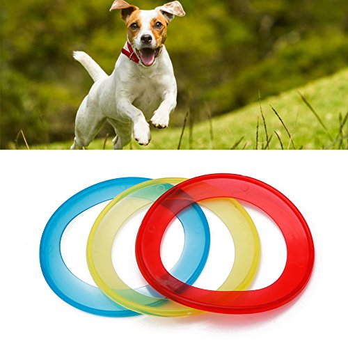 Durable Modeling Tangc Puppy Pet Dog Ring Frisbee Training Toy Throw