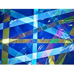 Rainbow Symphony Polarized Film- Linear Polarization Film Sheet 12 X 17