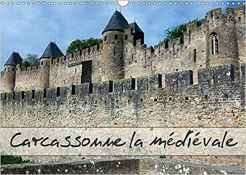 Carcassonne la médiévale (Calendrier mural 2021 DIN A3 horizontal