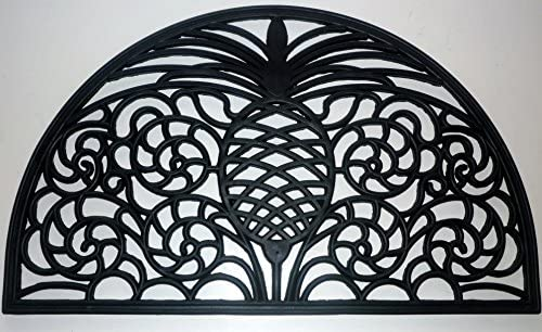 Geo Crafts Rubber Pineapple HR Doormat