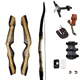 "SinoArt 70"" Takedown Recurve Bow Adult Archery Competition Athletic Bow Weights 14"