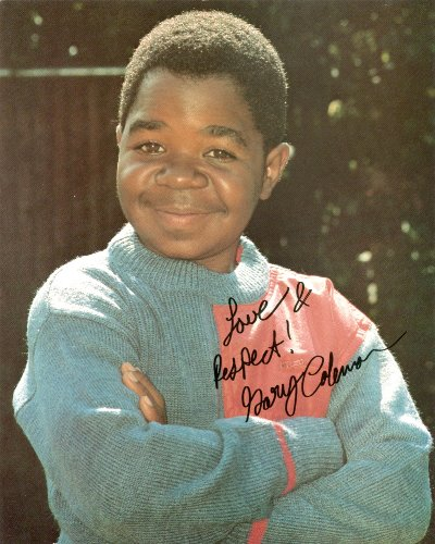 - Gary Coleman Autograph 8x10 Photo UACC Signed