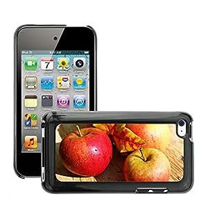 Print Motif Coque de protection Case Cover // M00241501 Las frutas de manzana roja madura otoño // Apple ipod Touch 4 4G 4th