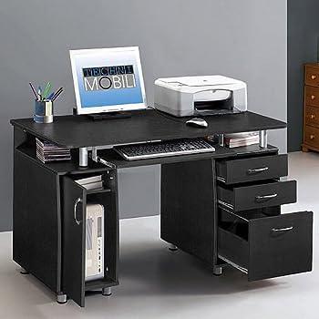 Amazon Com Super Storage Computer Desk Home And Office