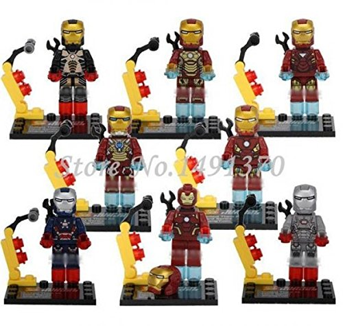 The Avengers Marvel DC Super Heroes Series Building Blocks Sets Minifigure Bricks Toys Compatible With Lego SY185 (No box, no card)