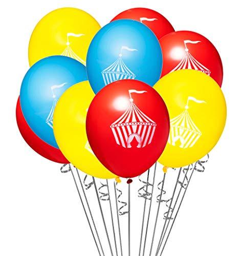 18 pcs Circus Tent Themed 12
