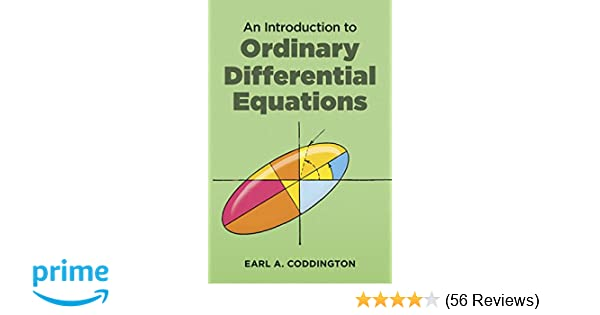 An Introduction to Ordinary Differential Equations (Dover