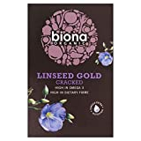 Biona Organic Cracked Linseed Gold (500g) - Pack of 6