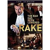 3 DVD Box Rake - The Bar Has Been Lowered - Complete Series 1 - Region 2 - English Audio - European Import