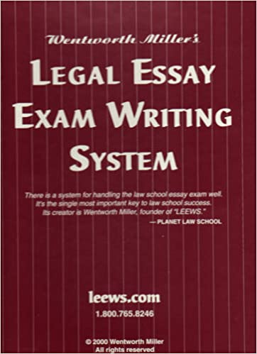 Legal essay exam