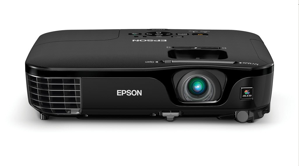 Amazon Epson EX5210 Projector Portable XGA 3LCD 2800 Lumens Color Brightness White HDMI Rapid Setup Electronics