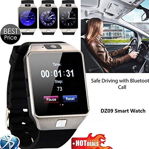 Reloj Inteligente Bluetooth DZ09 Reloj de Pulsera Inteligente U Watch Phone Mate para Apple/Android/iOS Dispositivo portátil Reloj Hombre Smart teléfono ...