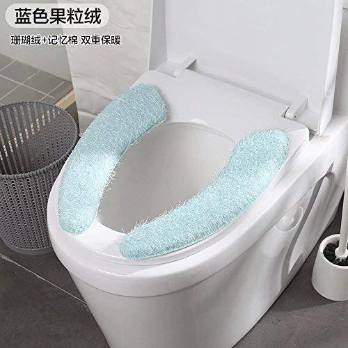 Toilet Cushion Toilet Cushion Hand Painting Bathmats Toilet Mat Three Piece Bathroom Mat,D