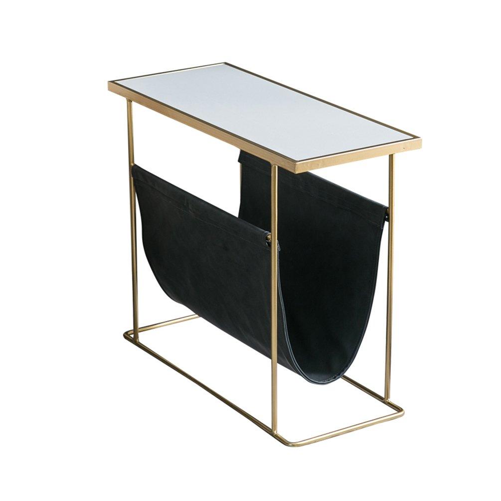 per poco costoso LXYFMS Il Il Il Sofà del Nord Europa È Un Tavolino da caffè in Marmo con Un Tavolino D'angolo Creativo Semplice E Moderno Tavolo Pieghevole (colore    2)  spedizione gratuita
