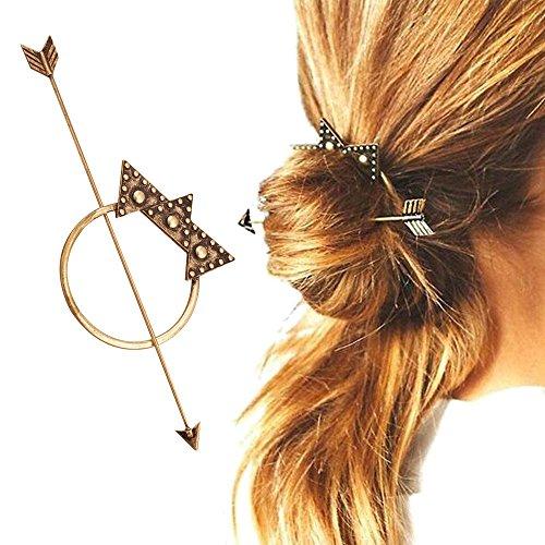 Contever® Haarschmuck, Haarspangen, Bohemian-Stil Spezieller Entwurf für Mädchen, Frauen (Bronzer)