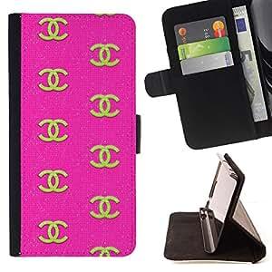 """For Sony Xperia M5 E5603 E5606 E5653,S-type Oro ropa de diseño de moda Rosa"""" - Dibujo PU billetera de cuero Funda Case Caso de la piel de la bolsa protectora"""