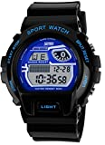 Digital Water Resist Wrsit Watches with Silicone Band