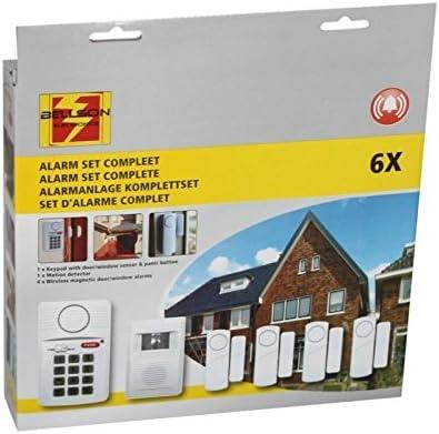 Fensteralarm 4er Set Türalarm Alarmanlage 90dB Alarm-System Einbruchschutz