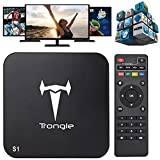 Trongle S1 Amlogic S805 Quad Core Tv Box Android 4.4 Kitkat H.265 Wifi LAN Miracast Airplay Hdmi 1g RAM 8g ROM