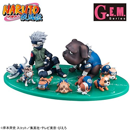 G.E.M.シリーズ 外伝! NARUTO-ナルト- 疾風伝 はたけカカシと忍犬セット 暗部 B074DTTBLF