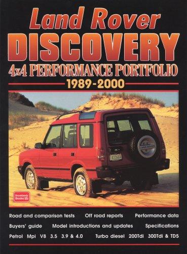 Land Rover Discovery: 4x4 Performance Portfolio 1989-2000