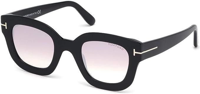 Amazon.com: Gafas de sol Tom Ford FT 0659 Pia 01Z brillante ...